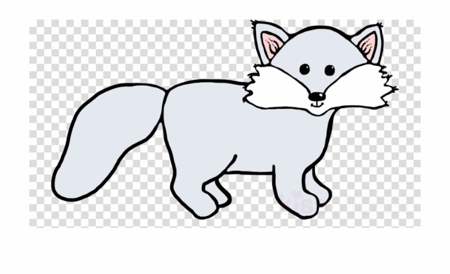 Artic foxes clipart svg freeuse library Arctic Fox Clipart Arctic Fox Wolf Red Fox , Png Download - Arctic ... svg freeuse library