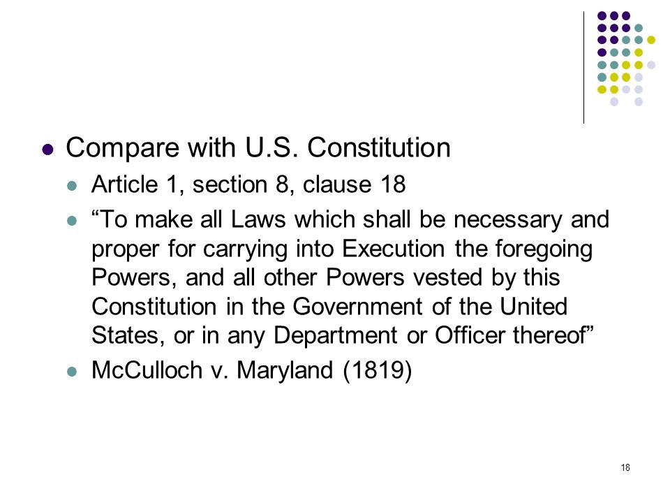 Article 1 section 8 clip library download Article 1 section 8 clause 18 of the Constitution Section 1 ... clip library download