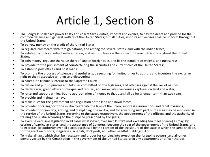 Article 1 section 8 image royalty free download Chapters 2 and 5 image royalty free download