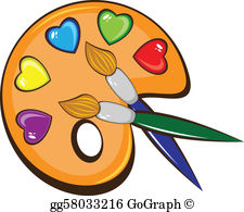 Artist painting clipart graphic free stock Artist Clip Art - Royalty Free - GoGraph graphic free stock