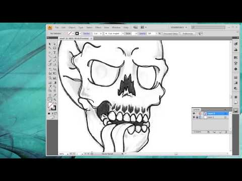 Artist clipart vector drawing jpg library library How to convert a drawing into vector art inside Adobe Illustrator ... jpg library library