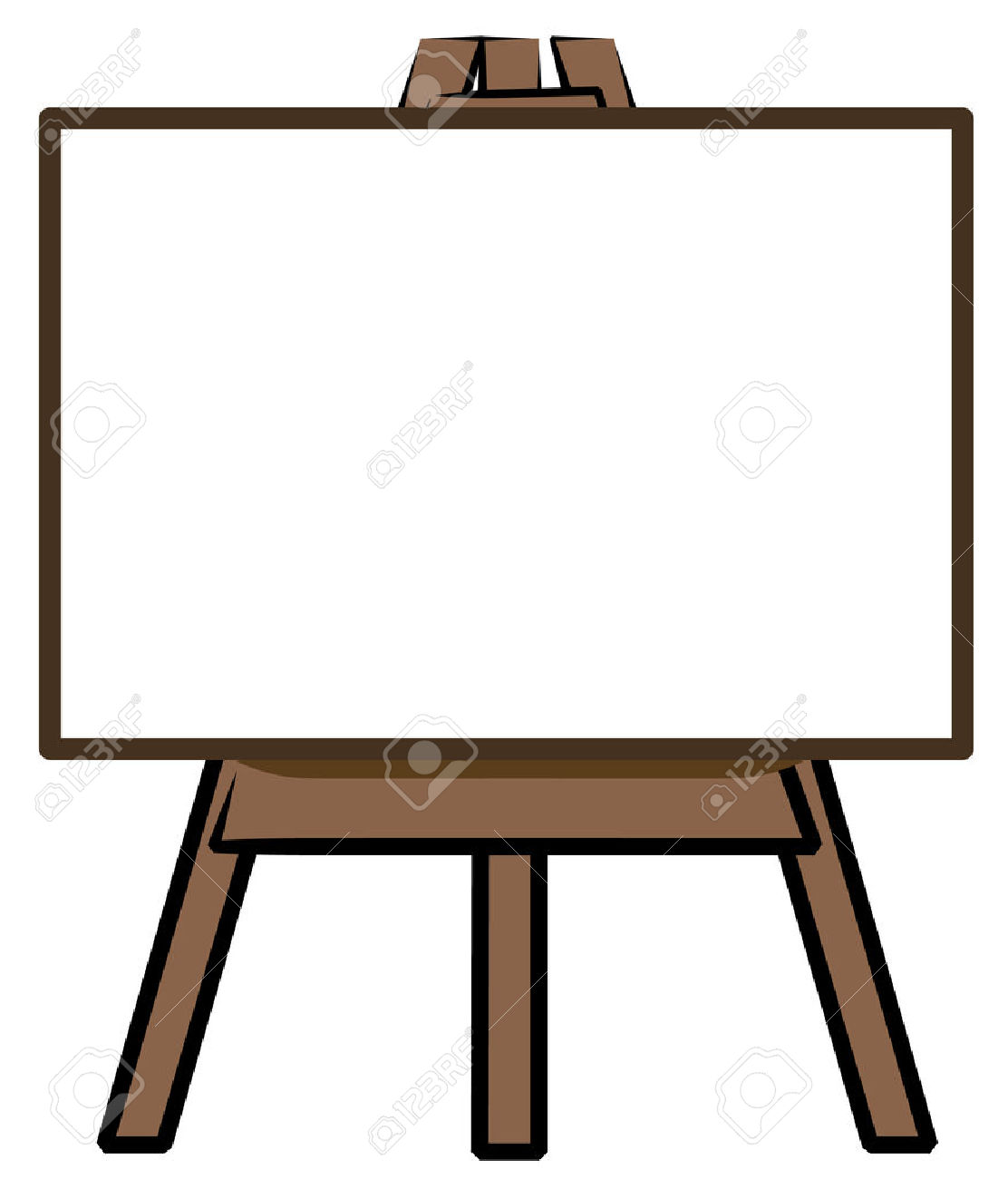 Board clipart vector free download 82+ Easel Clip Art   ClipartLook vector free download