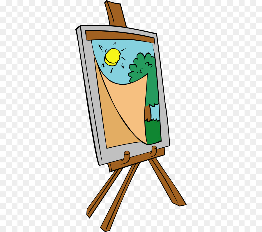 Artist easel clipart jpg black and white library Easel Background clipart - Painting, Art, Drawing, transparent clip art jpg black and white library