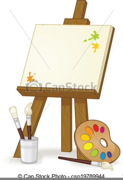 Artists easel clipart png black and white download Free Artist Easel Clipart | Free Images at Clker.com - vector clip ... png black and white download