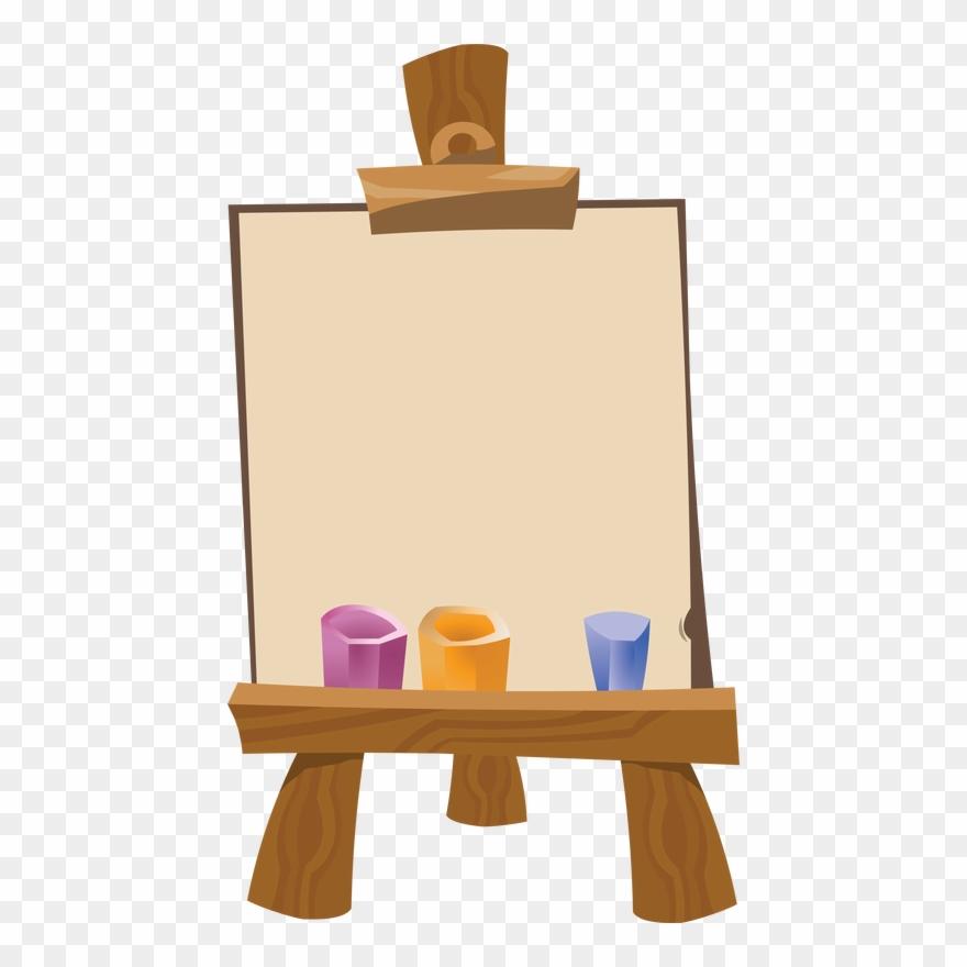 Artist easel clipart banner freeuse stock Art Easel Png - Art Easel Clip Art Transparent Png (#484906 ... banner freeuse stock