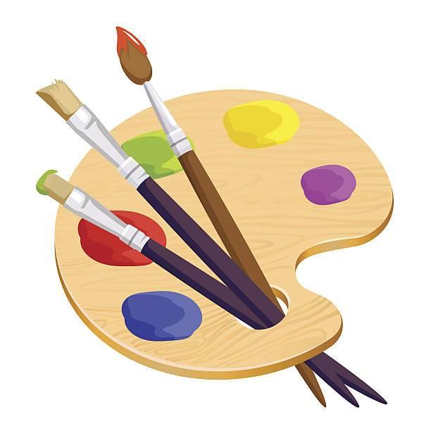 Artist palet clipart svg library download Artist palette clipart free 2 » Clipart Portal svg library download