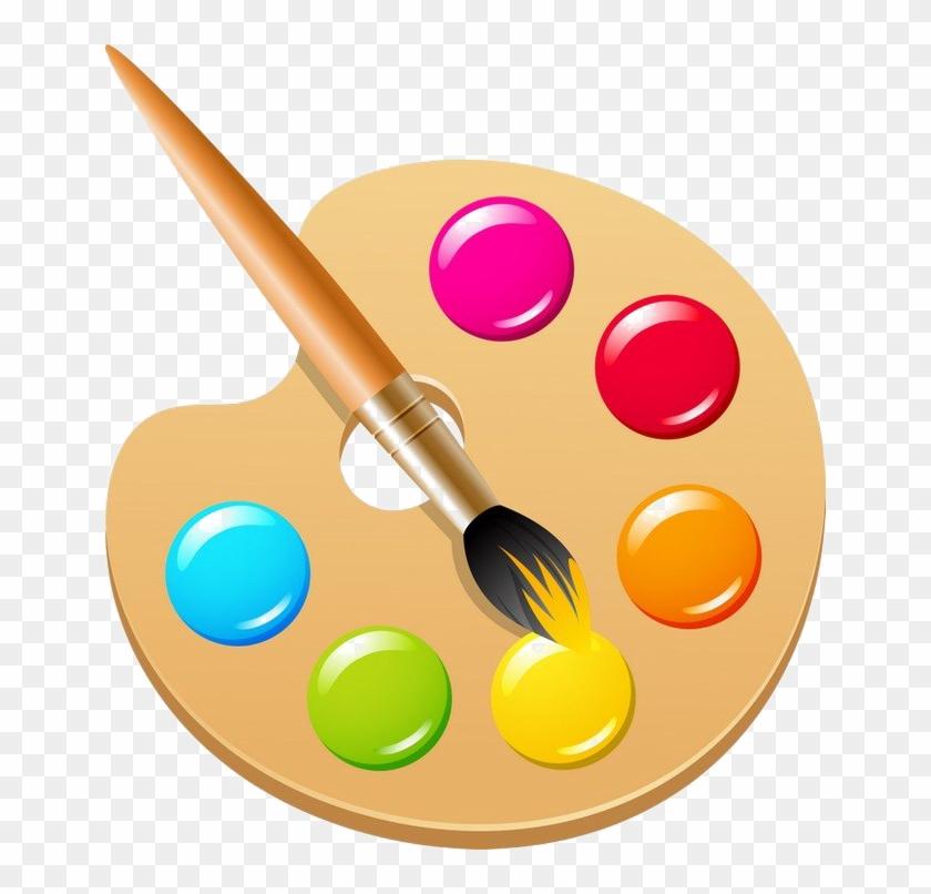 Artist palet clipart clip art free library Paint Palette Png Photos - Clipart Color Palette Png, Transparent ... clip art free library