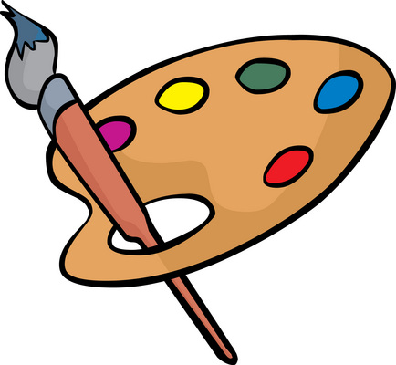 Iiiustrate clipart png free download Paint Pallet Clipart | Free download best Paint Pallet Clipart on ... png free download