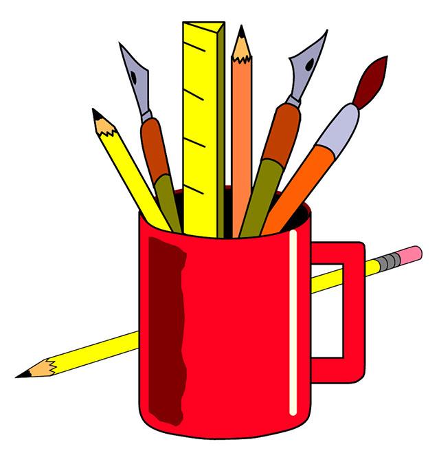 Clipart artist supplies jpg library stock 42+ Art Supplies Clip Art | ClipartLook jpg library stock
