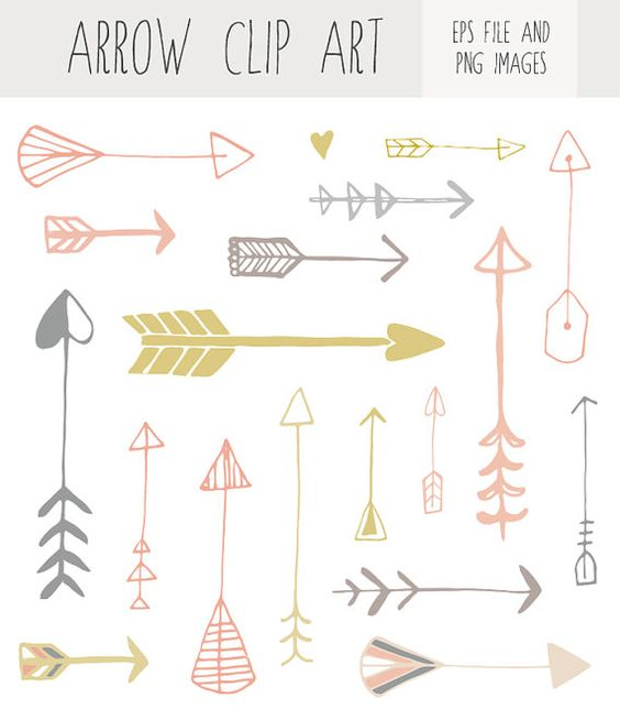 Artistic arrow clipart jpg royalty free library Hand Drawn Arrow Clip Art | Clip art, Hands and Hand drawn jpg royalty free library