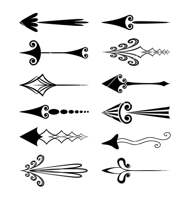 Artistic arrows clipart transparent Vector art by SpringNymph (a collection of 480+ vectors) clipart transparent