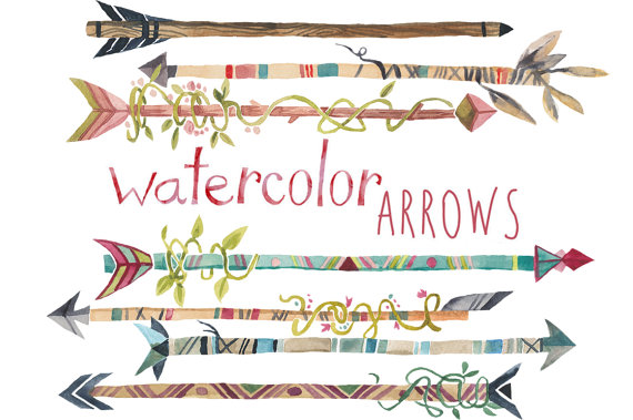 Artistic arrows. Arrow clipart clipartfest tribal