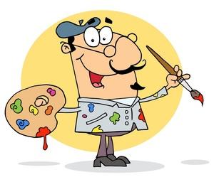 Artistic clip art clip free stock Artist Clipart   Clipart Panda - Free Clipart Images clip free stock