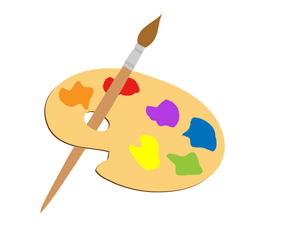 Artistic clipart royalty free Artists Palette Clipart Free Stock Photo - Public Domain Pictures royalty free