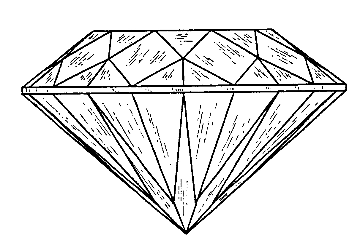 Artistic diamond clipart png transparent Simple 3d diamond drawing space cameltooth artistic jpg - Clipartix png transparent