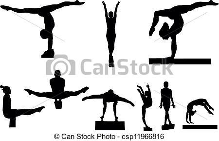 Artistic gymnastics clipart graphic freeuse download Gymnastics Illustrations and Stock Art. 17,190 Gymnastics ... graphic freeuse download