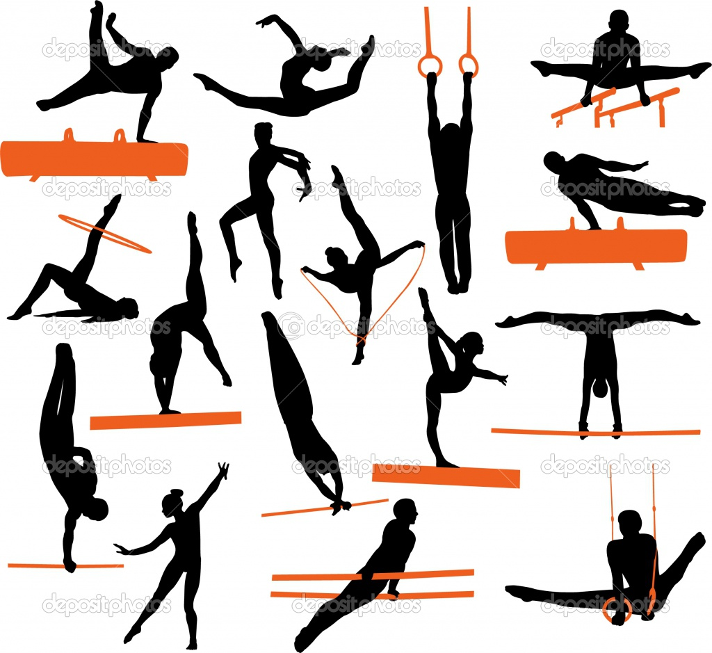 Artistic gymnastics clipart picture freeuse 17 Best images about דפי צביעה התעמלות on Pinterest | Crabs ... picture freeuse