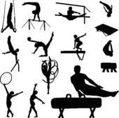 Artistic gymnastics clipart clipart free stock Artistic gymnastics clipart - ClipartFest clipart free stock