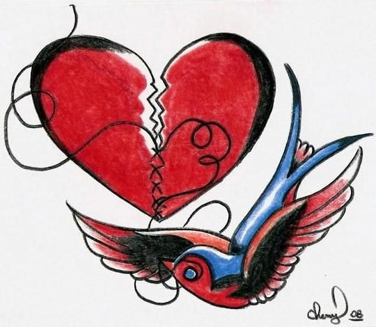Artistic mended heart clipart black and white picture free library Mended heart | Ink ideas | Heart tattoo designs, Broken heart ... picture free library
