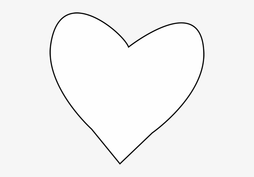 Artistic mended heart clipart black and white png free download Broken Heart Clipart Outline - White Heart Clip Art Transparent PNG ... png free download