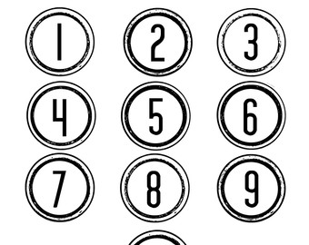 Artistic numbers clipart picture freeuse Clip Art Numbers 1-10 Clipart - Clipart Kid picture freeuse