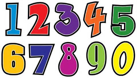 Artistic numbers clipart graphic black and white download Pictures Of Numbers - ClipArt Best graphic black and white download