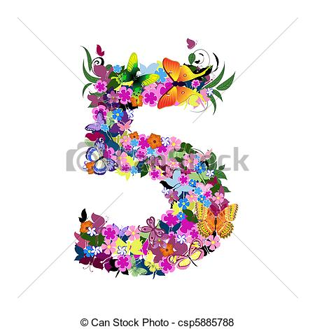 Artistic numbers clipart picture free Artistic numbers clipart - ClipartFest picture free