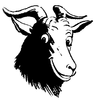 Artistic ram head clipart black and white vector transparent stock Free Black and White Goat Clipart, 1 page of Public Domain Clip Art vector transparent stock