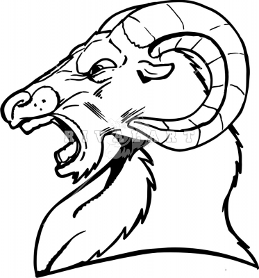 Artistic ram head clipart black and white clip art How To Draw A Ram Head | Free Download Clip Art | Free Clip Art ... clip art