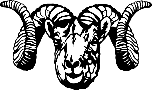 Artistic ram head clipart black and white jpg black and white download How To Draw A Ram Head | Free Download Clip Art | Free Clip Art ... jpg black and white download
