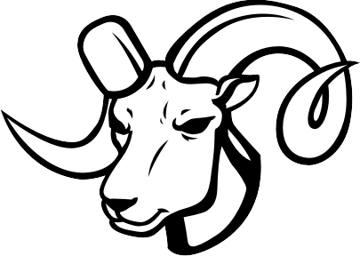 Artistic ram head clipart black and white image library download Ram Clipart & Ram Clip Art Images - ClipartALL.com image library download