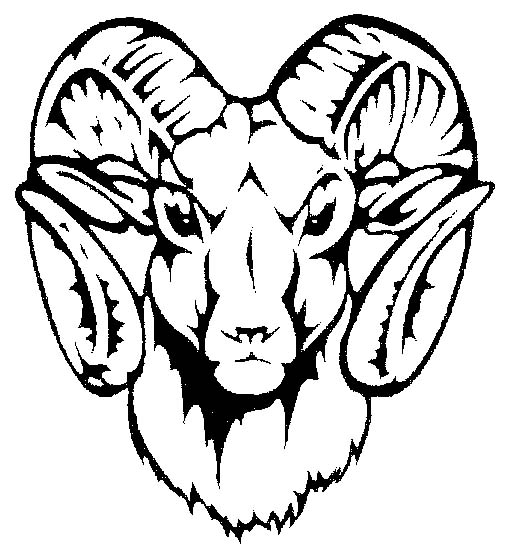 Artistic ram head clipart black and white image black and white library How To Draw A Ram Head | Free Download Clip Art | Free Clip Art ... image black and white library