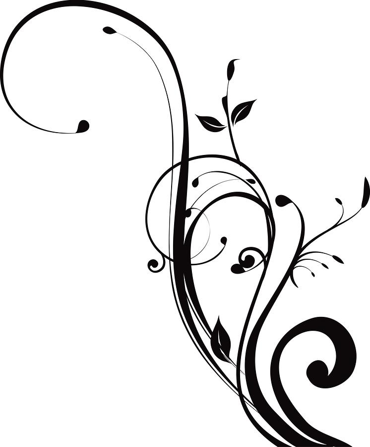 Artistic swirls clipart. Pretty swirl kid can