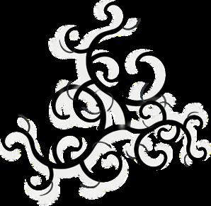 Clipartfox. Artistic swirls clipart