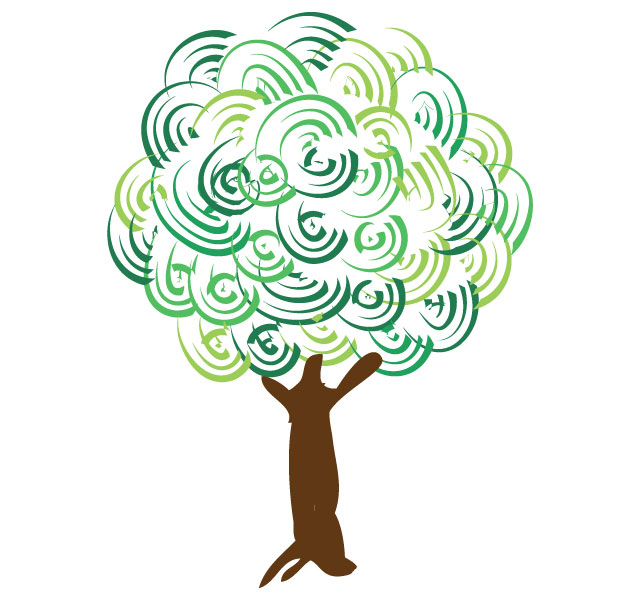 Artistic tree clipart clip royalty free download Artistic tree | Free Tree Vector | Free photoshop Brushes | clip royalty free download