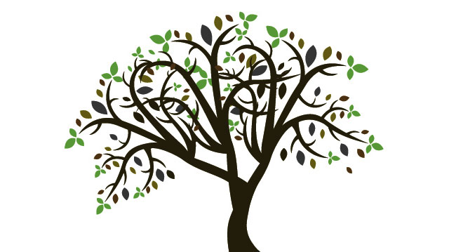 Artistic tree clipart graphic royalty free download Free Tree Clip Art & Tree Clip Art Clip Art Images - ClipartALL.com graphic royalty free download