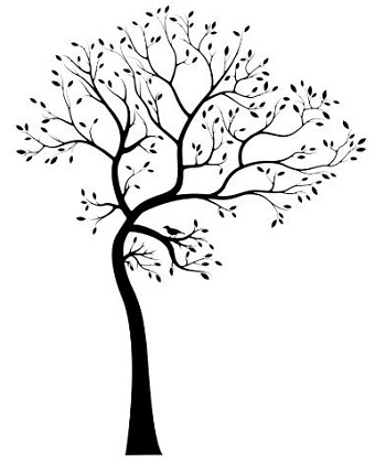 Artistic tree clipart jpg transparent library Artistic tree clipart - ClipartFest jpg transparent library