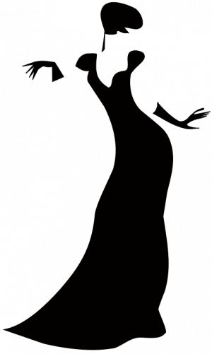 Artistic woman clipart clip free stock 1000+ ideas about Woman Silhouette on Pinterest | Girl silhouette ... clip free stock