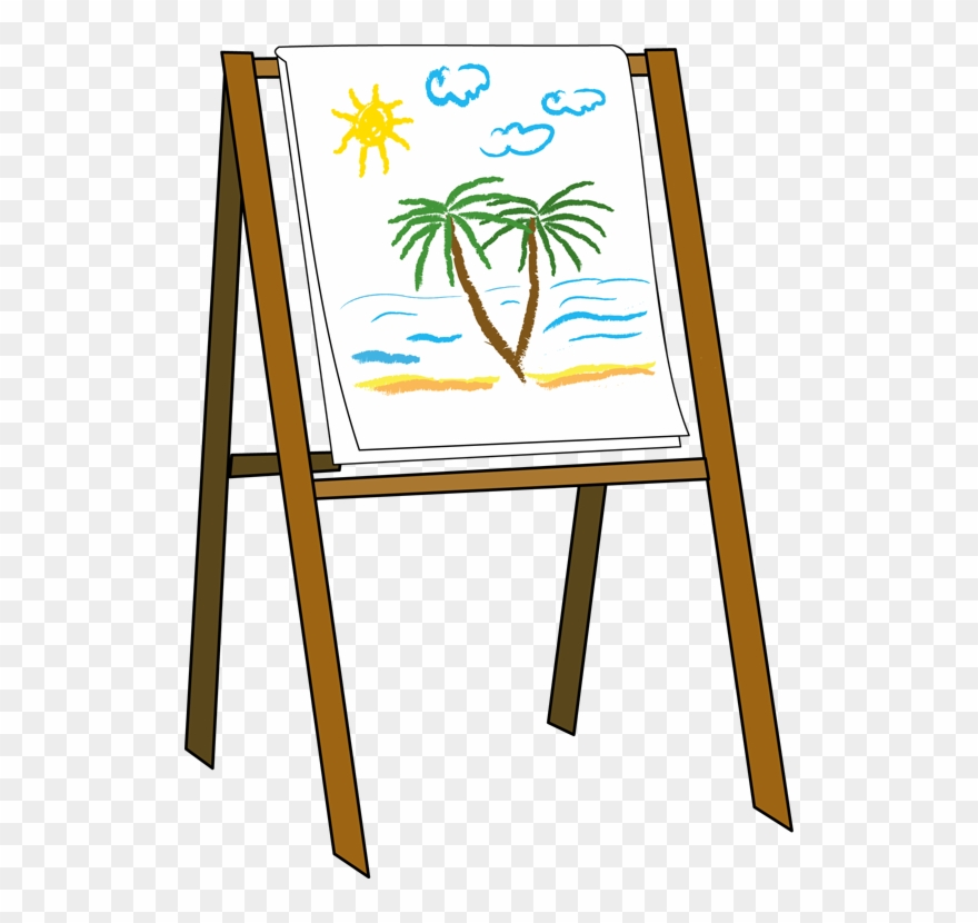 Artists easel clipart freeuse stock Art Easel Clipart - Easel Clipart - Png Download (#88021) - PinClipart freeuse stock
