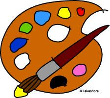 Artists palette clipart clip art black and white download Artist Palette Clipart | Clipart Panda - Free Clipart Images clip art black and white download