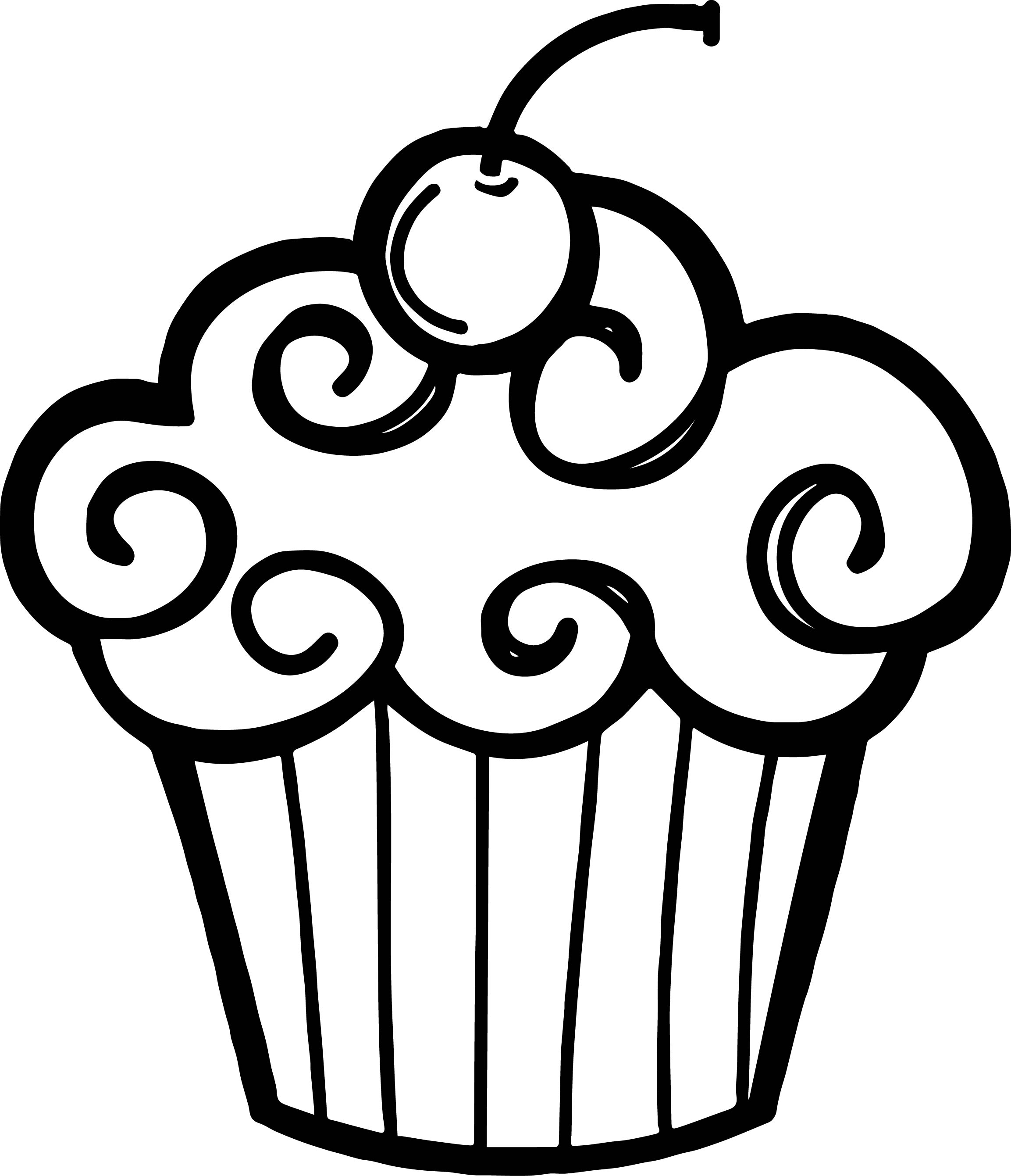 Cupcake clipart free black and white svg freeuse library Birthday black and white birthday clipart black and white craft ... svg freeuse library