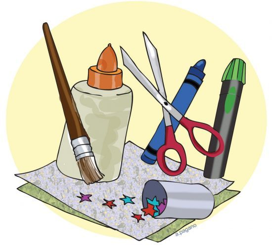 Arts and crafts shop clipart clipart freeuse Craft Supplies Clipart   Free download best Craft Supplies Clipart ... clipart freeuse