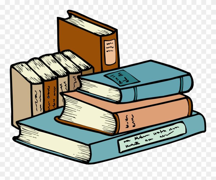 Clipart literature clip transparent library Books & Literature - Cartoon Pile Of Books Png Clipart (#14525 ... clip transparent library