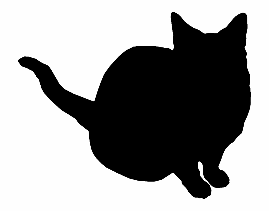 Artsy cat clipart download The Artsy Fartsy Art Room - Cat Tail Silhouette Transparent ... download