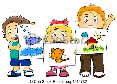Artwork clip art png freeuse stock Kids artwork clipart - ClipartFest png freeuse stock