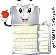 Clipart of fridge svg transparent Refrigerator Clip Art - Royalty Free - GoGraph svg transparent