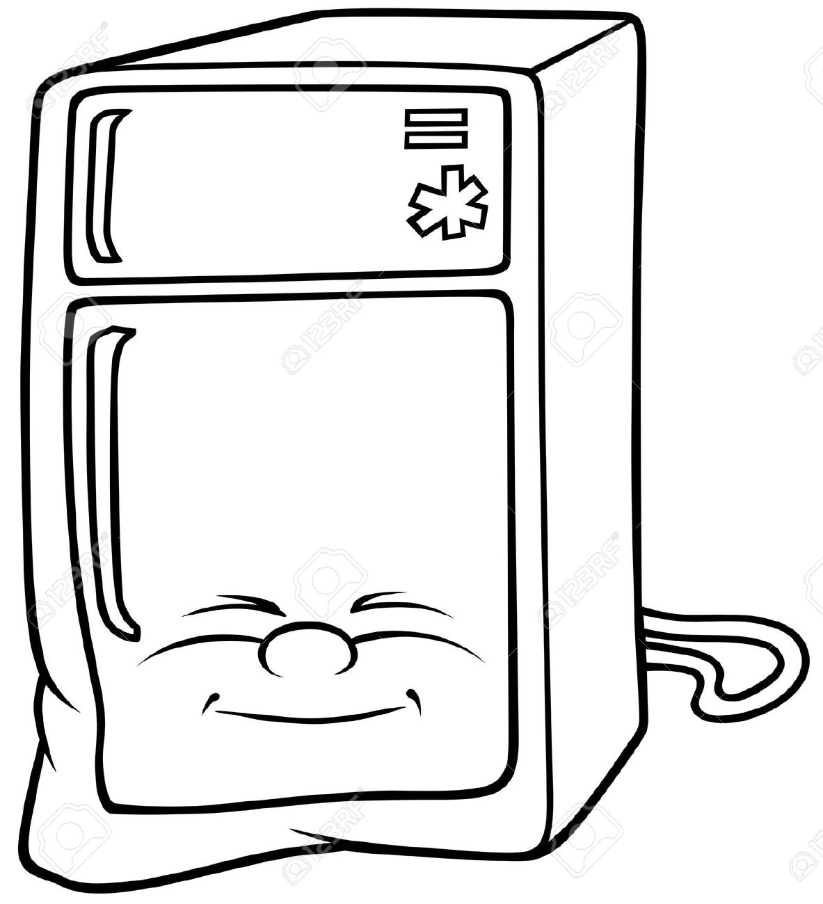 Artwork on the frig clipart image royalty free download Fridge Clipart | Free download best Fridge Clipart on ClipArtMag.com image royalty free download