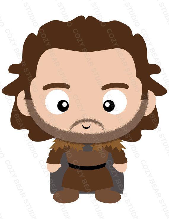 Arya stark clipart banner black and white download Juego de tronos Clipart - Arya Stark, Jon Snow, Rickon Stark, Robb ... banner black and white download