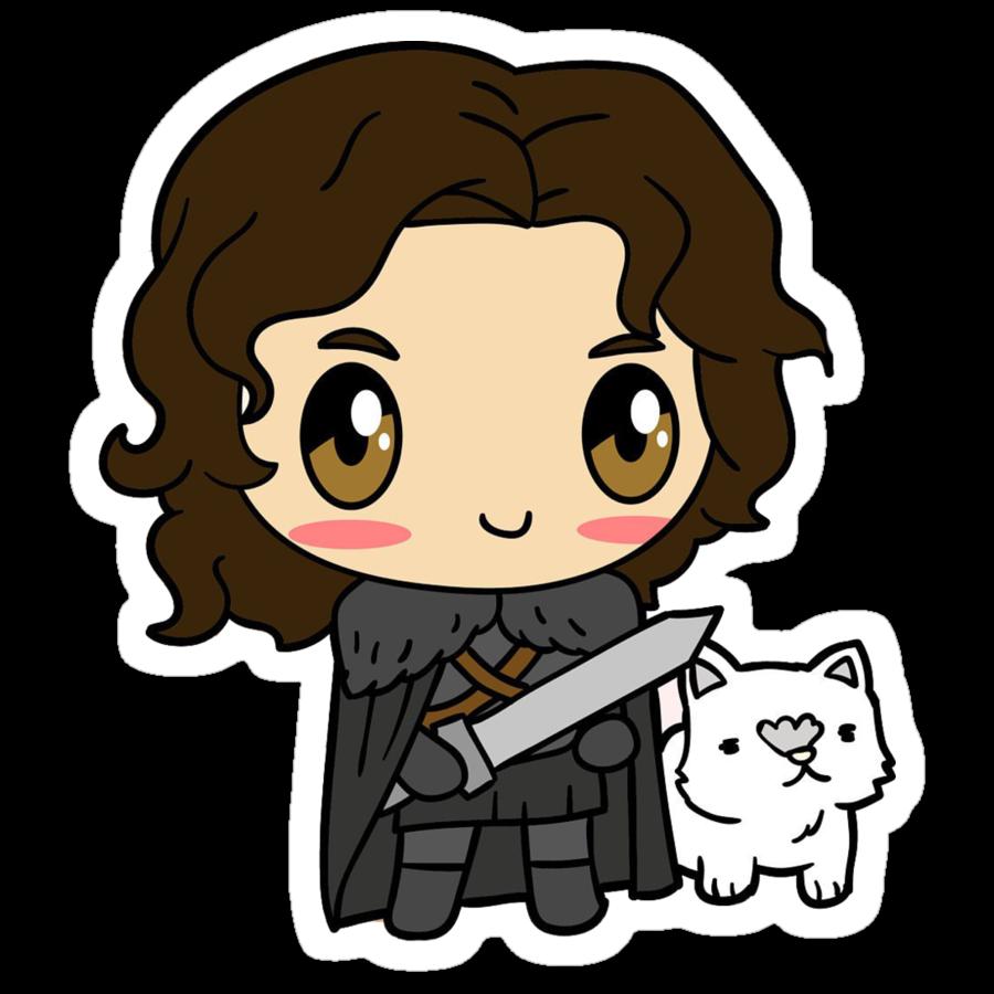 Arya stark clipart jpg library stock GOT - Cute Arya Stark sticker jpg library stock