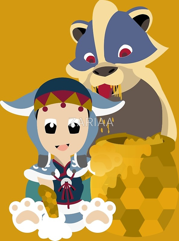 Arzorus clipart vector library library Chibi Arzuros And Baby - V.2 | Art Print vector library library